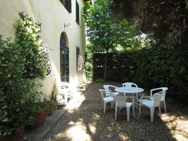 villa Bernardo Antella giardino