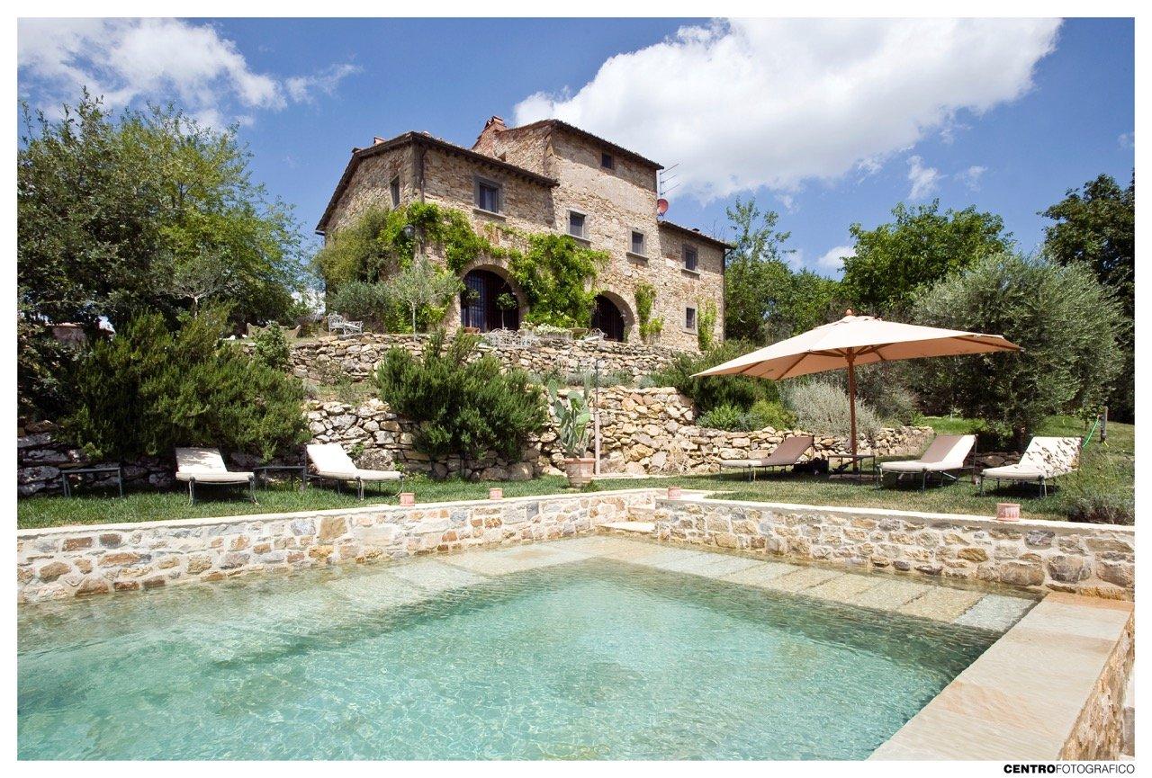 Villa Glicine, la quintessenza del casale toscano